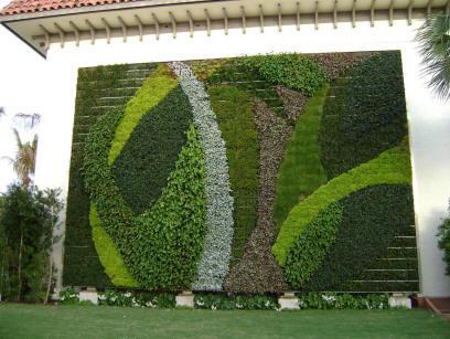 Jardins verticais casa e cia arq paisagismo for Materiales para jardines verticales